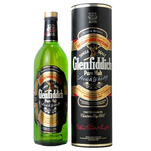 グレンフィディック スペシャルリザーブ(旧ボトル):700ml [99999] 終売(98-0)