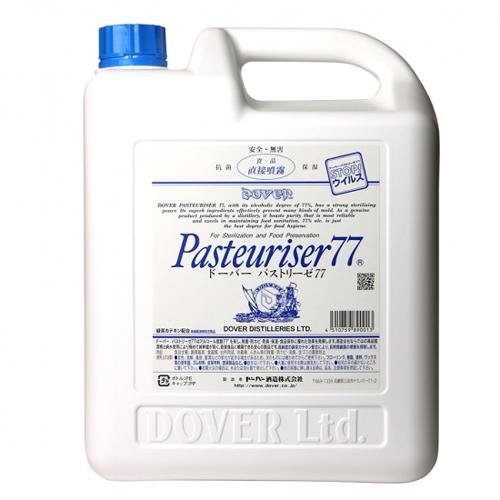 ドーバー パストリーゼ77(消毒用アルコール) 詰替え用 ポリ容器:5000ml☆ [59089](L)(80-0)