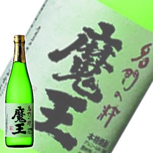 【高級化粧箱+ラッピング付】 白玉酒造 魔王 芋焼酎:720ml [10832_gift]]*(80-0)