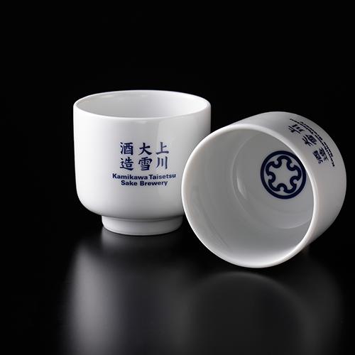 「上川大雪」特別純米・「十勝」純米 720ml と オリジナルぐい呑み2個セット