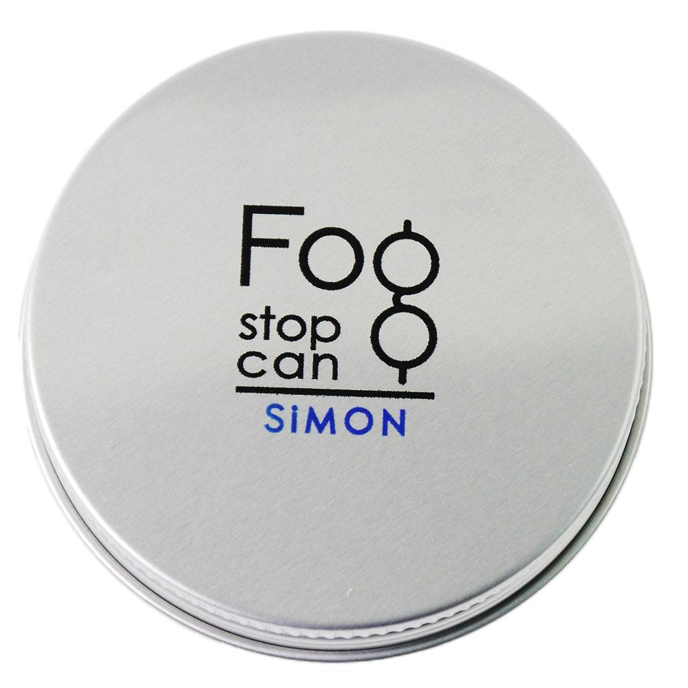 サイモン フォグストップ缶 強力メガネのくもり止め クロスタイプ