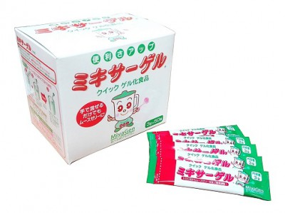 クイックゲル化剤 ミキサーゲルスティック タイプ (1箱3g50包)