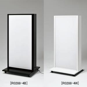 電飾スタンド F4467 45-130(各色)│キャスター付きで移動が簡単な電飾看板