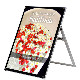 アクリルパネルスタンドAPS ロータイプ B1 片面│大判ポスター用A型スタンド。