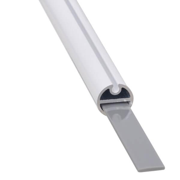 アルミH型パイプ φ16mm(各色×各サイズ)│H型パイプにアルミ製が登場