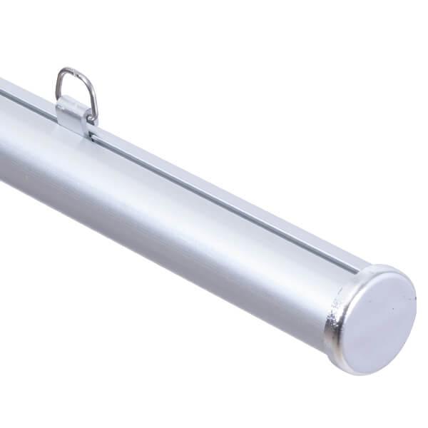 アルミH型パイプ φ25mm(各色×各サイズ)│H型パイプにアルミ製が登場