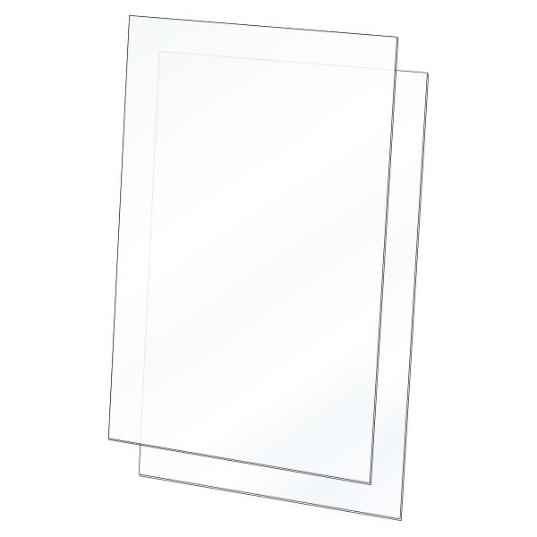 ツインポスタースタンド本体 B2用オプション(各種)│組み合わせ自由な専用オプション