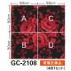 サンゲツ カーペットタイルGC グラフィカカーペットタイル グラフィカ カットパイル COMMERCIAL SPACE GC-2108 4枚1セット
