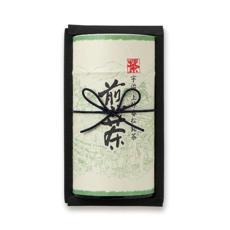 煎茶 九重 200g缶箱入り(F1-25)