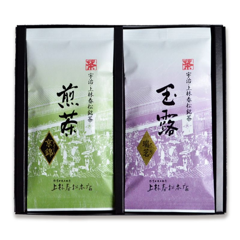 玉露 瑞茗・煎茶 京錦 100g平袋箱入 (HF10-52)