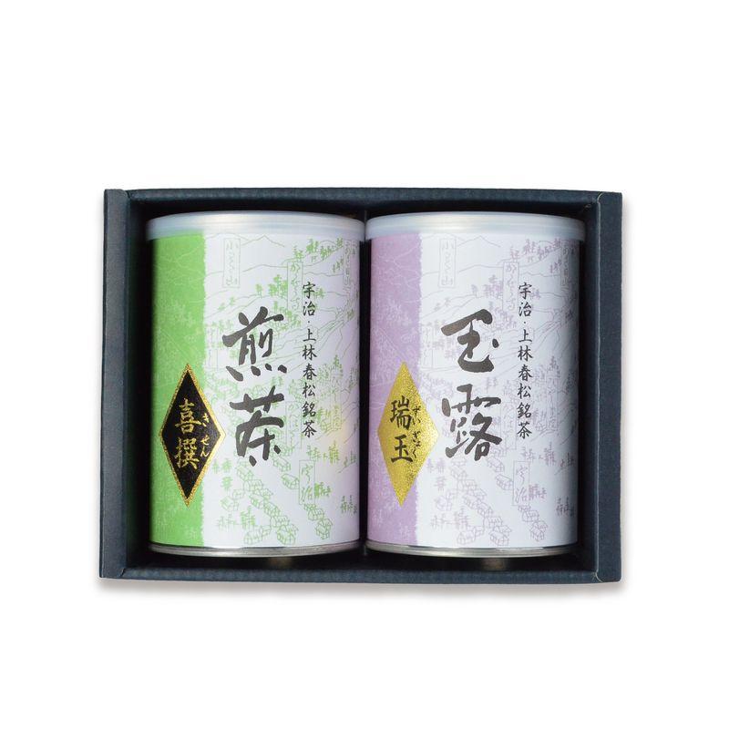 玉露 瑞玉・煎茶 喜撰 100g缶詰箱入 (CH-48)