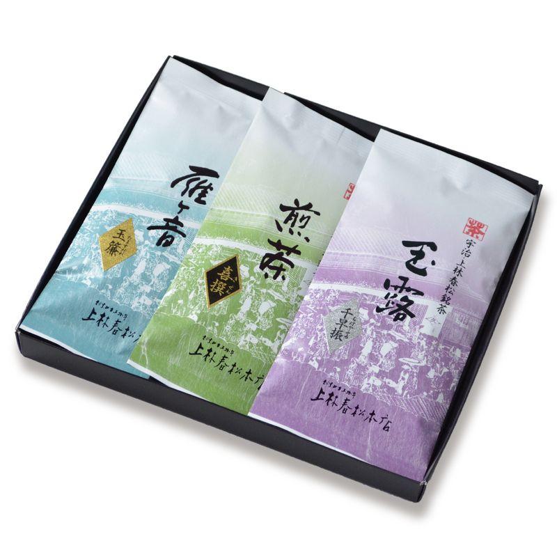 玉露 千早振・煎茶 喜撰・雁ヶ音 玉簾 100g平袋箱入 (HFK10-47)