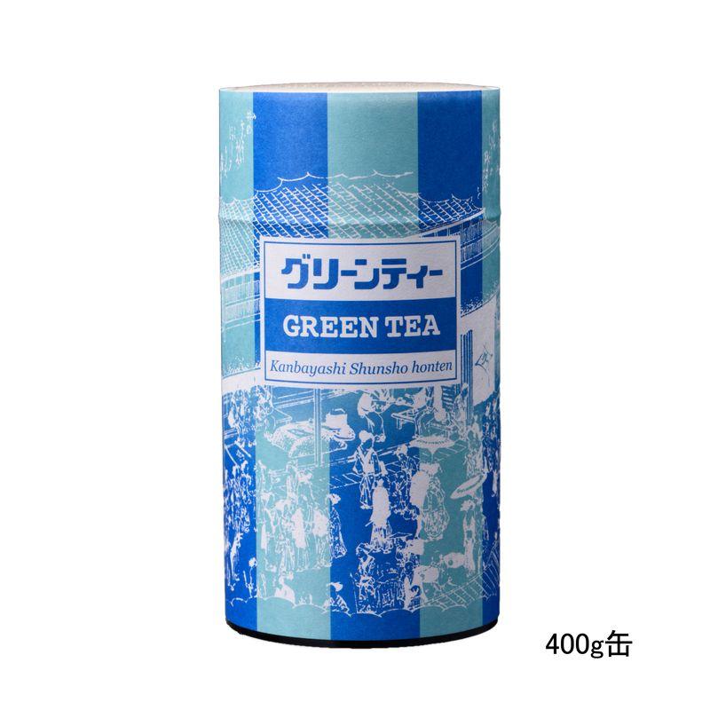 グリーンティー 400g缶