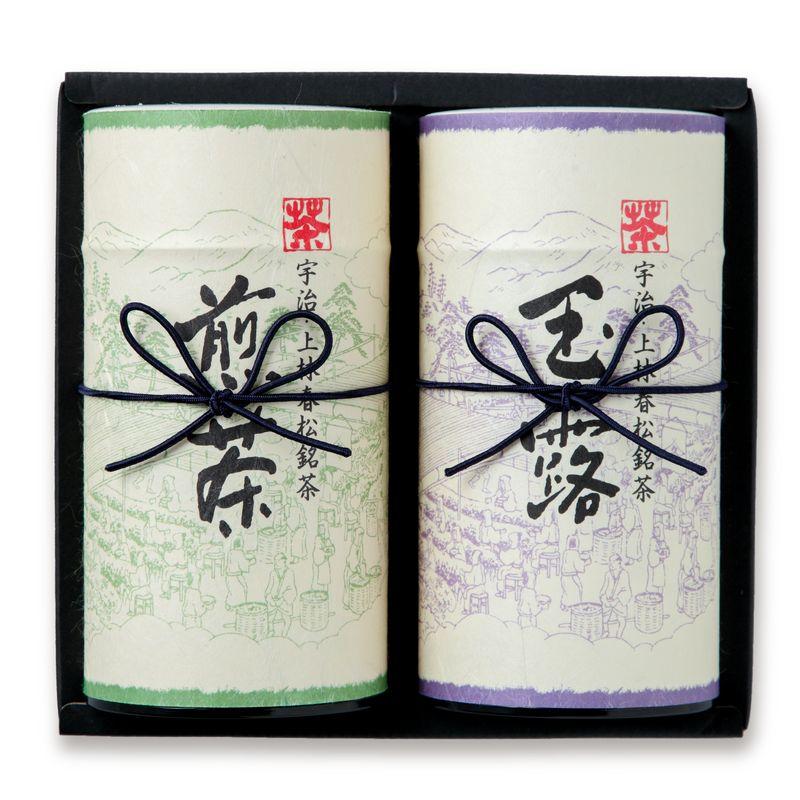 玉露 神心・ 煎茶 九重 200g缶箱入り (H2-50)