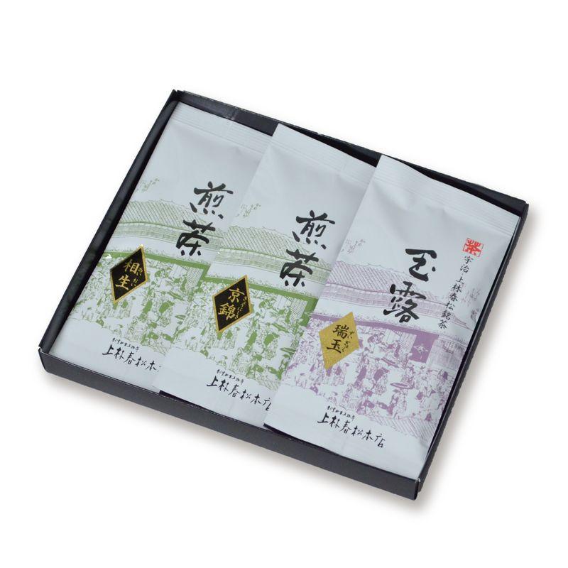 玉露 瑞玉・煎茶 京錦・煎茶 相生 50g平袋箱入 (HFF50-42) ☆