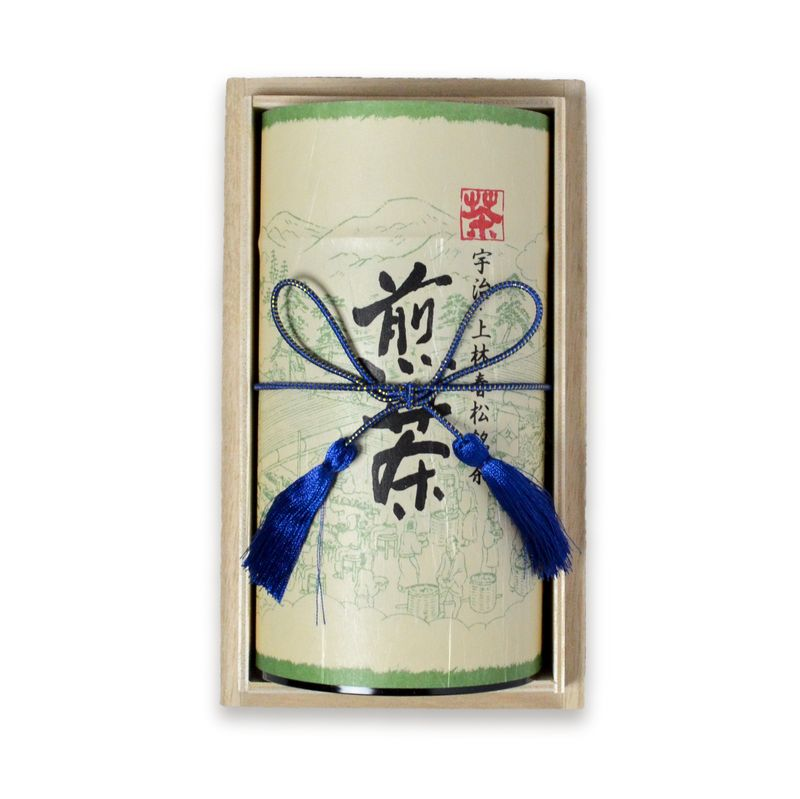煎茶 相生 200g缶木箱入り(A1-50)