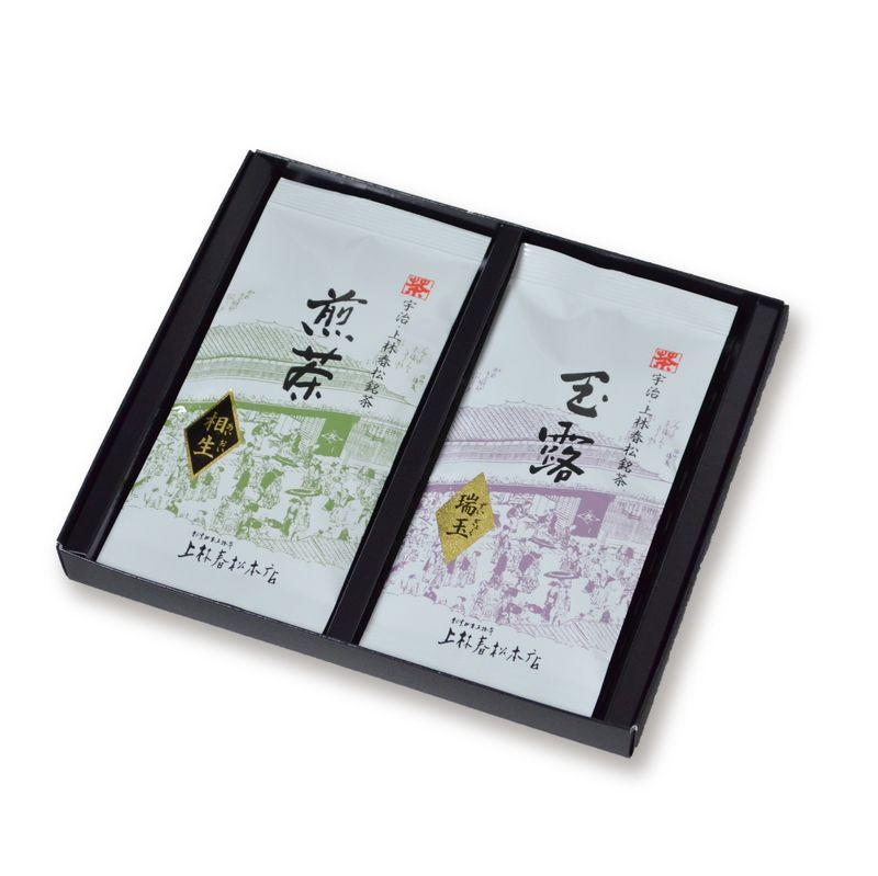 玉露 瑞玉・煎茶 相生 50g平袋箱入 (HF50-27)