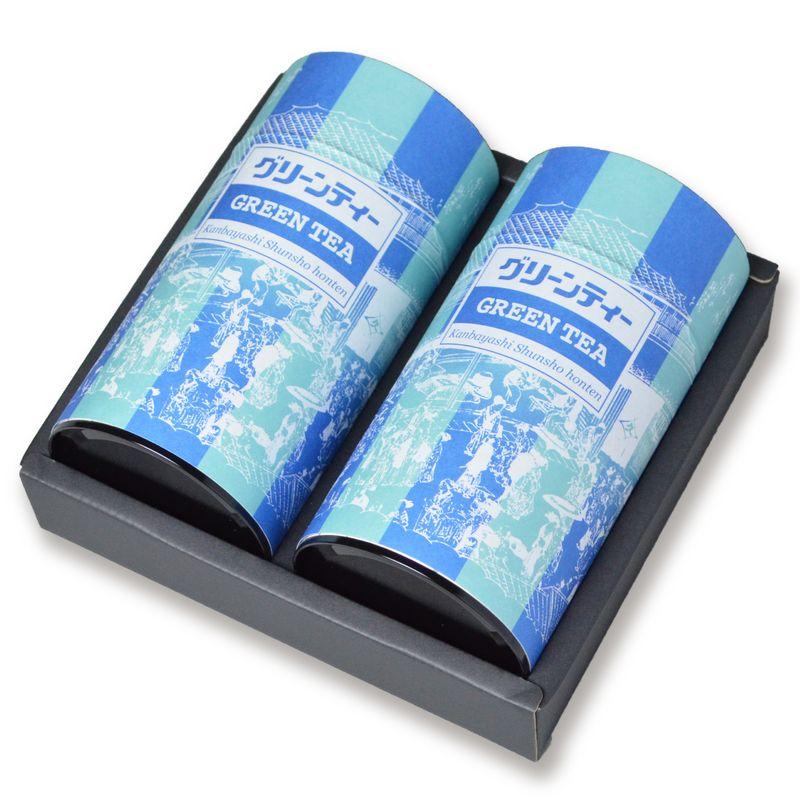 グリーンティー 400g×2缶箱入(RG-27)