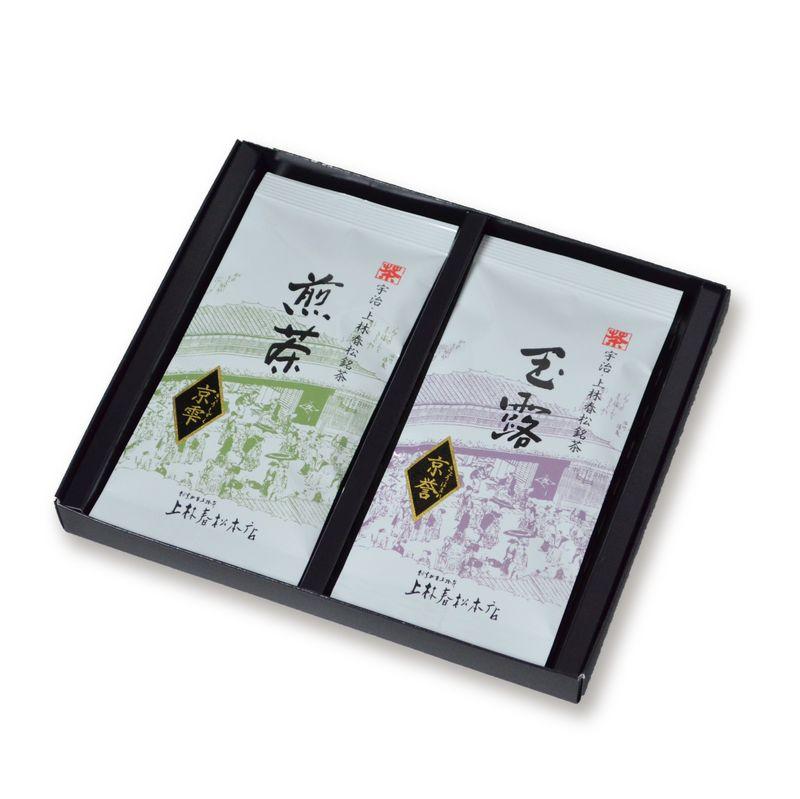 玉露 京誉・煎茶 京雫 50g平袋箱入 (HF50-72)