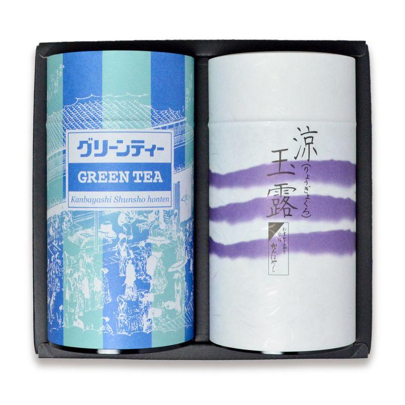 涼玉露5g×23個缶/グリーンティー400g缶 箱入(RG-405) ☆