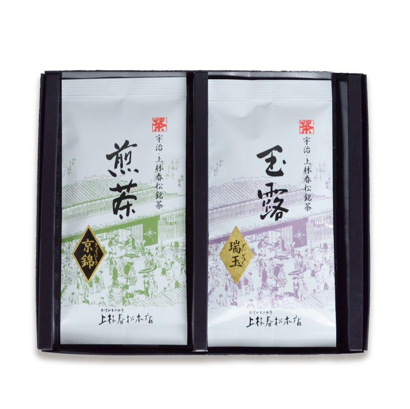 玉露 瑞玉・煎茶 京錦 50g平袋箱入 (HF50-32)