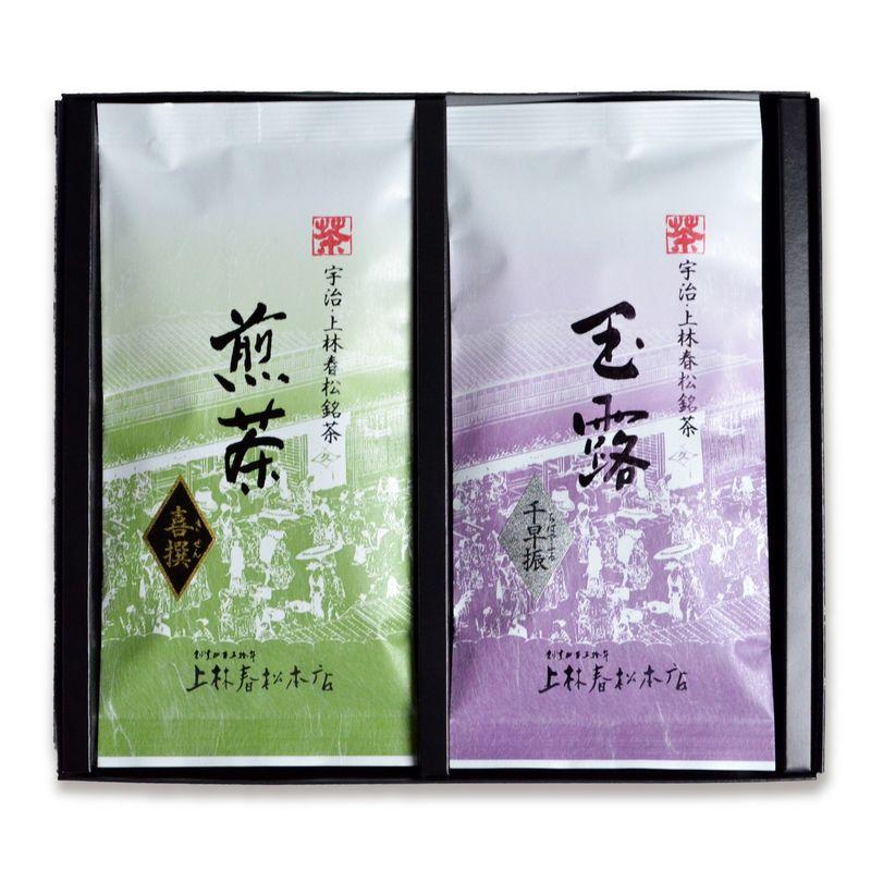玉露 千早振・ 煎茶 喜撰 100g平袋箱入 (HF10-32)