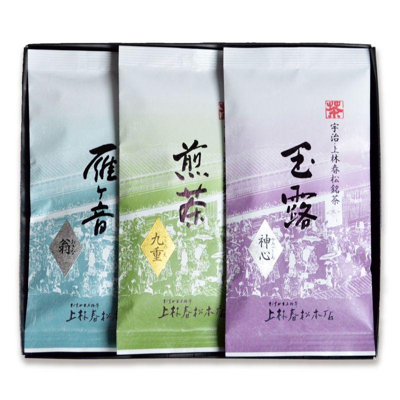 玉露 神心・煎茶 九重・雁ヶ音 翁 100g平袋箱入 (HFK10-30)