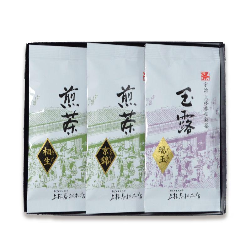 <母の日> 玉露 瑞玉・煎茶 京錦・煎茶 相生 50g平袋箱入(HFF50-42)
