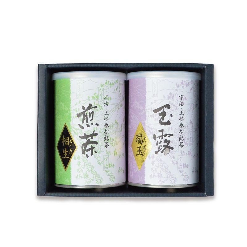 <父の日ギフト> 玉露 瑞玉・煎茶 相生 100g缶詰箱入(CH-53)