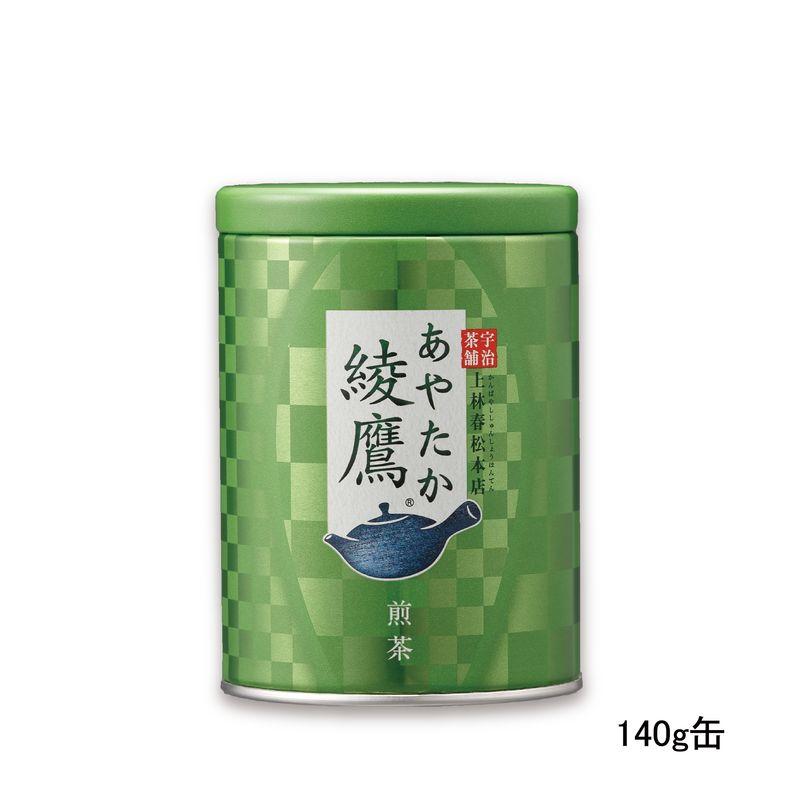 綾鷹 煎茶 140g缶