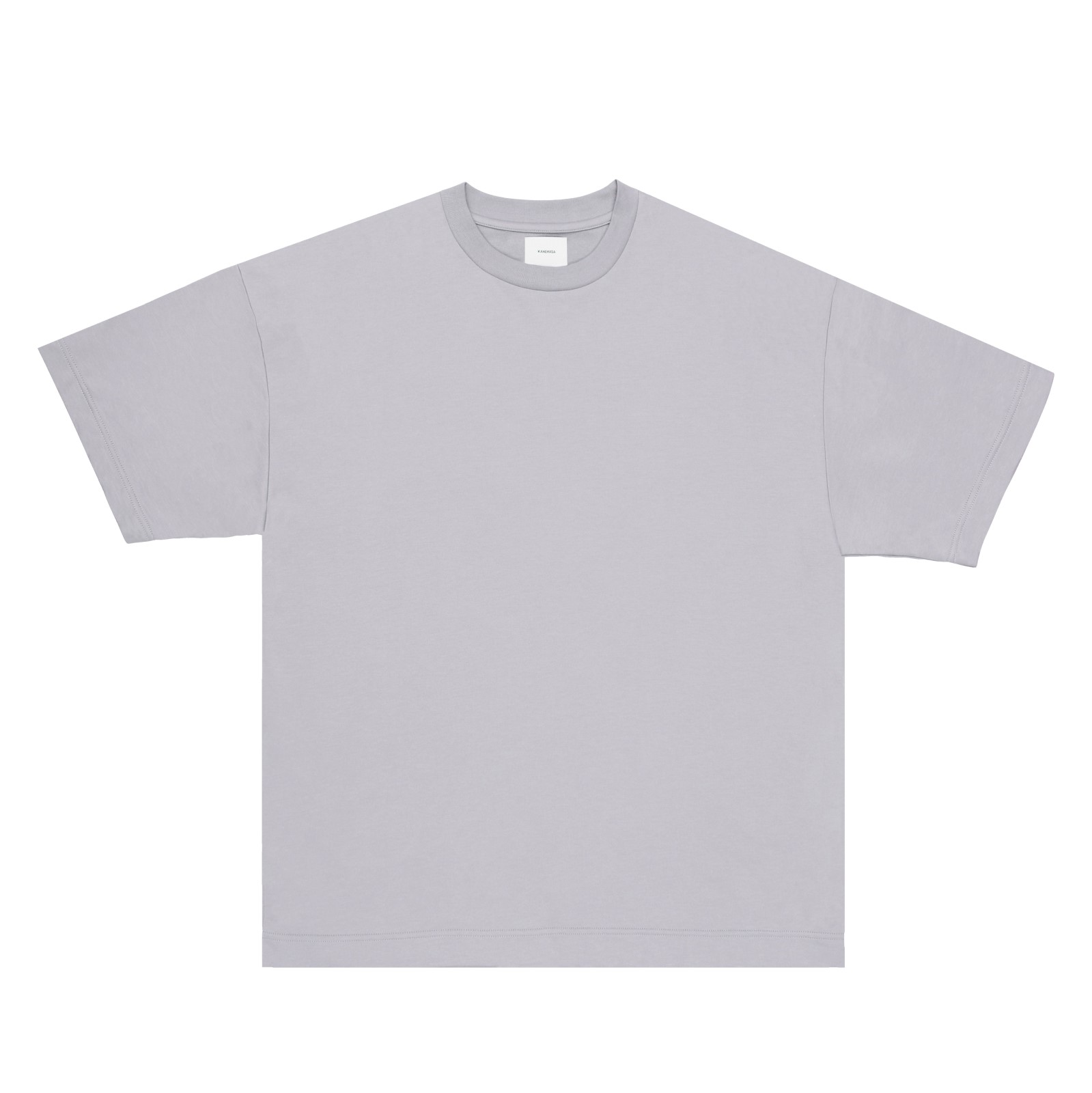 【sold out】Super High Gauge Just Fit Crew neck cut & sew