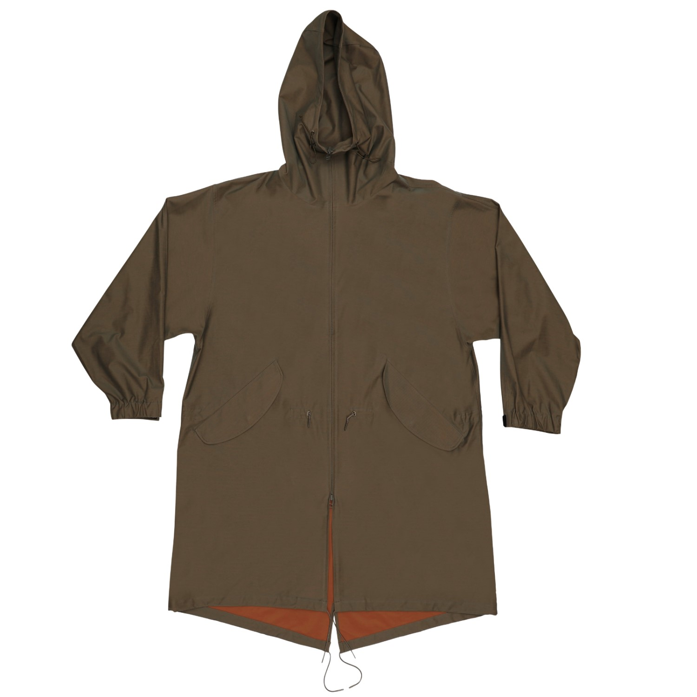 Super High Gauge Solaro  Twill Military Coat