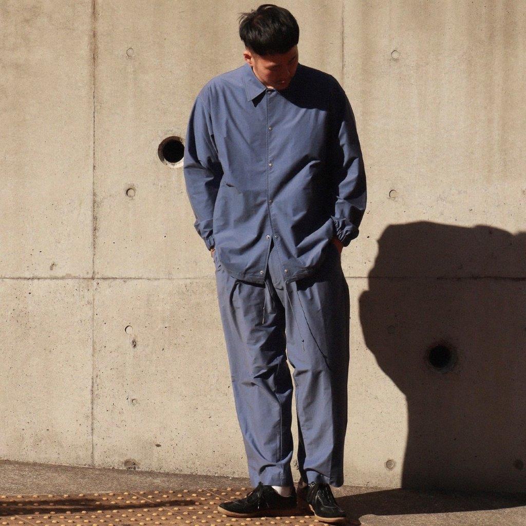 Super High Gauge Solaro Twill Coach Jacket