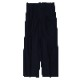 Super High Gauge Solaro Twill Set Up Pants Two-Tuck