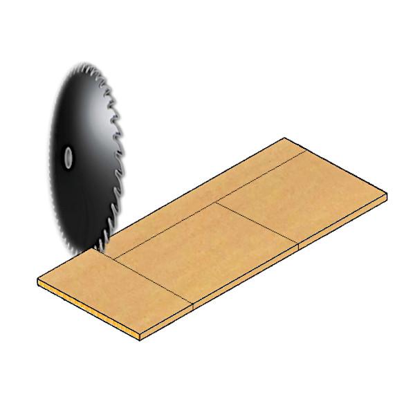 木棚板[WS300・WS450] 切断加工