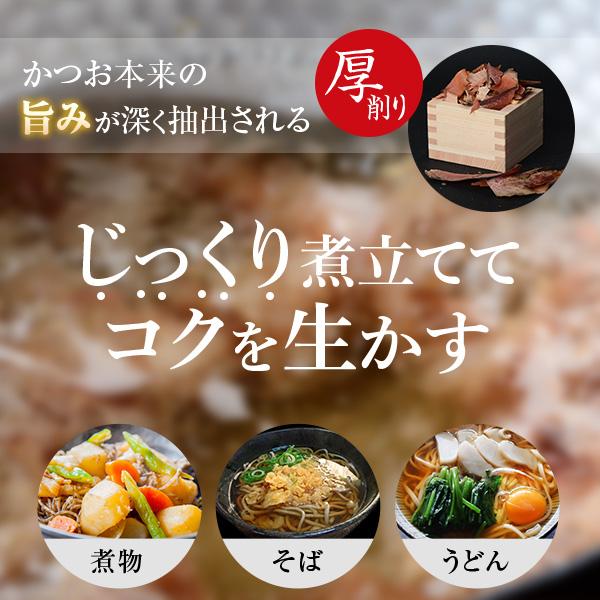 厚削り 荒節 100g×3袋 / 鰹節 かつお節   【送料別】