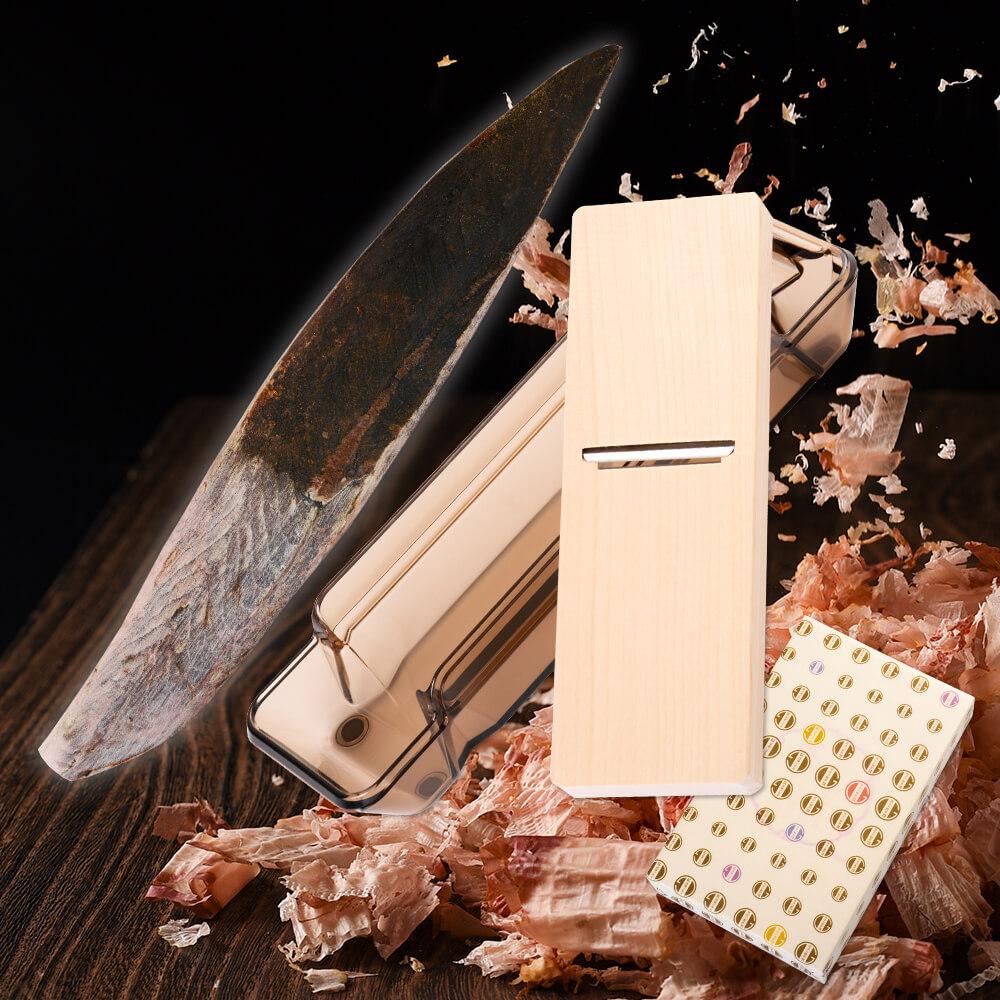 裸節1本 + 削り器 <化粧箱入り> 【送料無料】 鰹節 かつお節