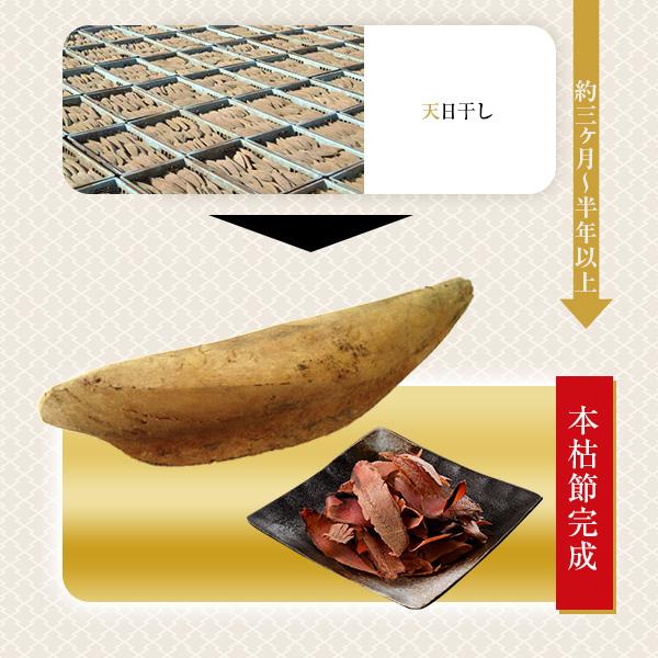黄金本枯 厚削り 100g × 3袋入 / 鰹節 かつお節   【送料別】