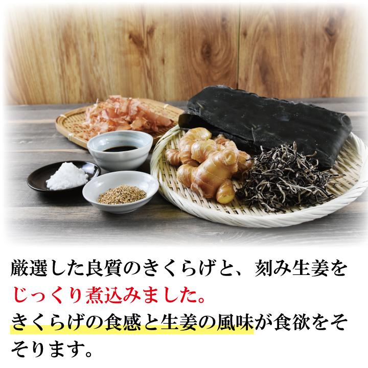 【送料無料】きくらげとの佃煮食べ比べ2種セット【おにぎりに 納豆に 酒のおつまみに 和え物に 辛い ビタミンD 1000円ぽっきり 常温 セット】