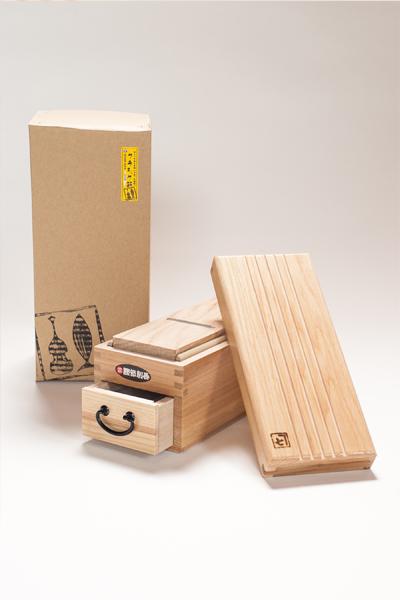 金七商店オリジナル削り器「クラシック箱」