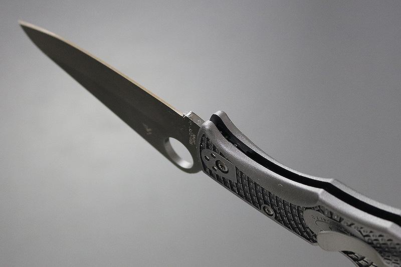 Spyderco パシフィックソルト2 オールブラック 直刃 (C91PBBK2)
