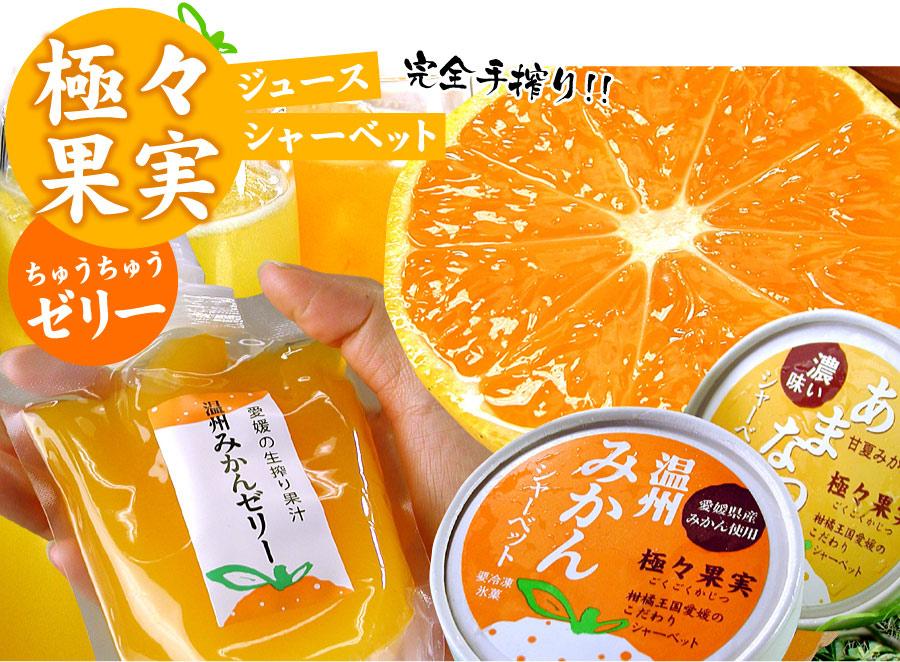 極々果実ちゅうちゅうゼリー20個セット【送料無料】