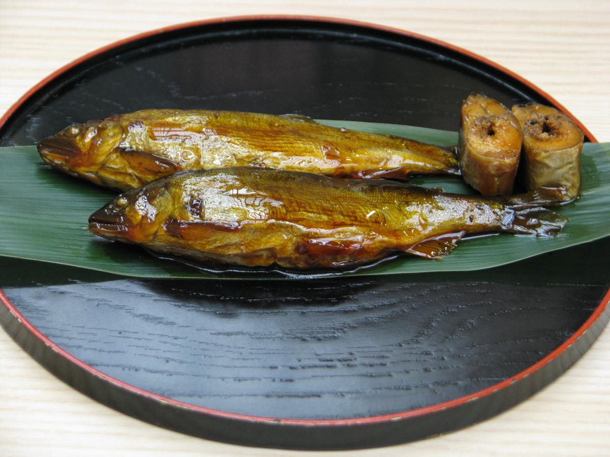 遊水池 鮒甘露煮・子持ち 鮎の甘露煮詰合せ