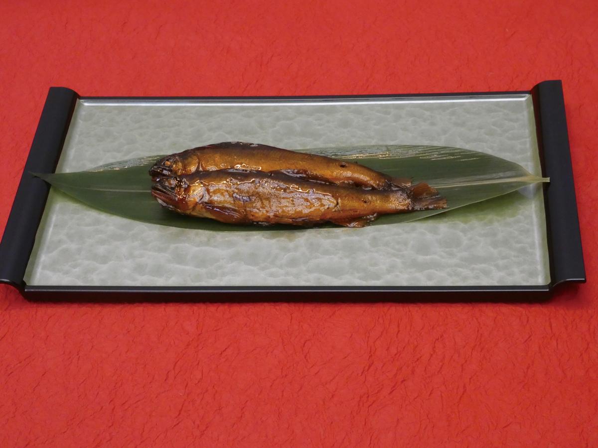 おりーぶ鮎の甘露煮  10尾入