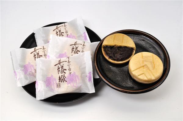 最中「藤綴」・丸形 化粧箱(15個入り)