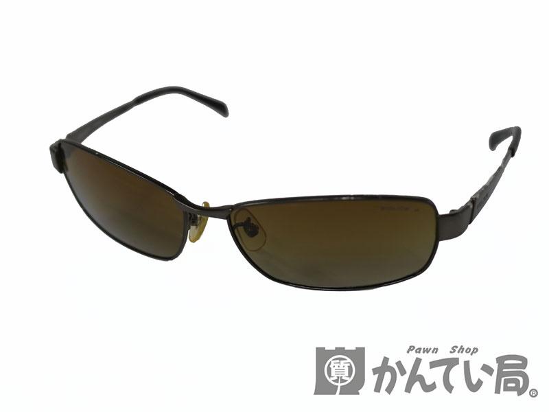 POLICE【ポリス】サングラス S8798J ダークブラウン 【中古】c19-2070
