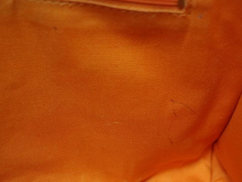TORY BURCH【トリーバーチ】トートバッグ オレンジ系 キャンバス コットン レディース【中古】 USED-6 質屋 かんてい局小牧店 c20-888