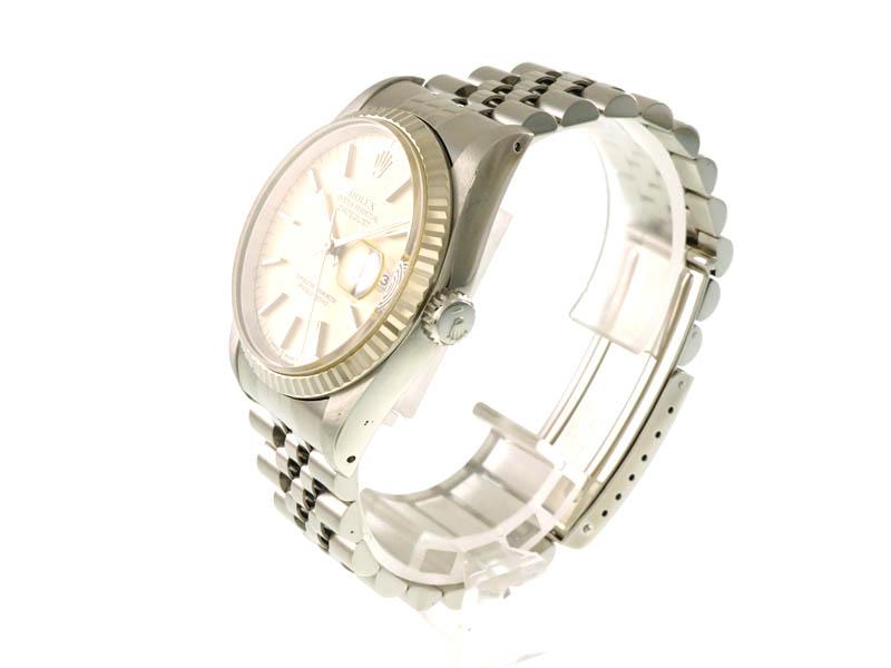ROLEX【ロレックス】 16234 デイトジャスト SS(ステンレススチール)×K18WG(18金ホワイトゴールド) X番(1991年頃)自動巻 メンズ 腕時計 オートマチック USED 【中古】 質屋 かんてい局春日井店 k19-3130