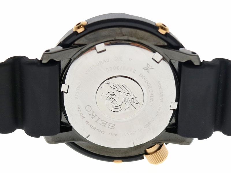 SEIKO【セイコー】 SBDN026 プロスペックス ダイバーズウォッチ ラバー ソーラー メンズ 腕時計 ブラック ブルー 【中古】 USED-8 質屋 かんてい局小牧店 c19-5450