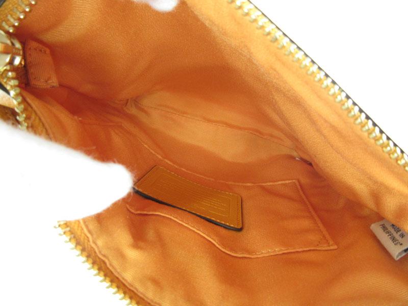 COACH【コーチ】F36063 『ショルダーバッグ』鞄 レザー オレンジ系 ブランド ファッション レディース 【中古】USED-B【6】k2000948-222 質屋かんてい局春日井店